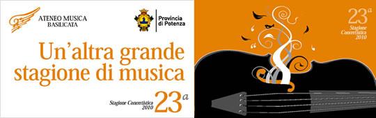 Ateneo Musica Basilicata - 23° Stagione Concertistica