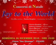 Joy to the World - Filiano
