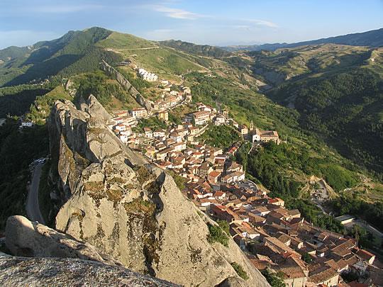 Pietrapertosa - Paesaggio