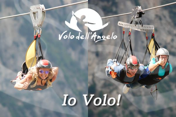 voucher volo dell'angelo